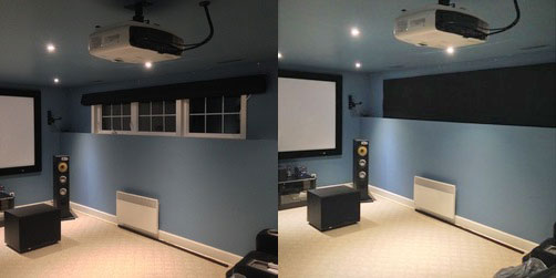 As You Probably Know Controlling Ambient Light Is One Of The Most Critical Factors In Creating A High Quality Home Theater Experience