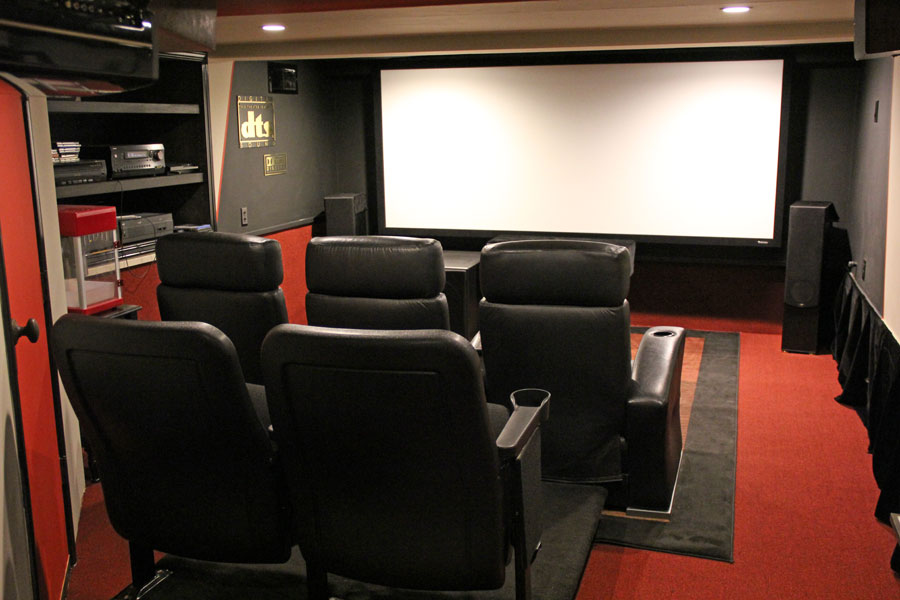 Home Theater of the Month: Duck and Cover - AVSForum.com