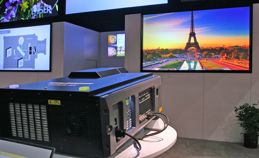 Digital Projection Insight 4K Laser and LED Projectors at CEDIA 2014