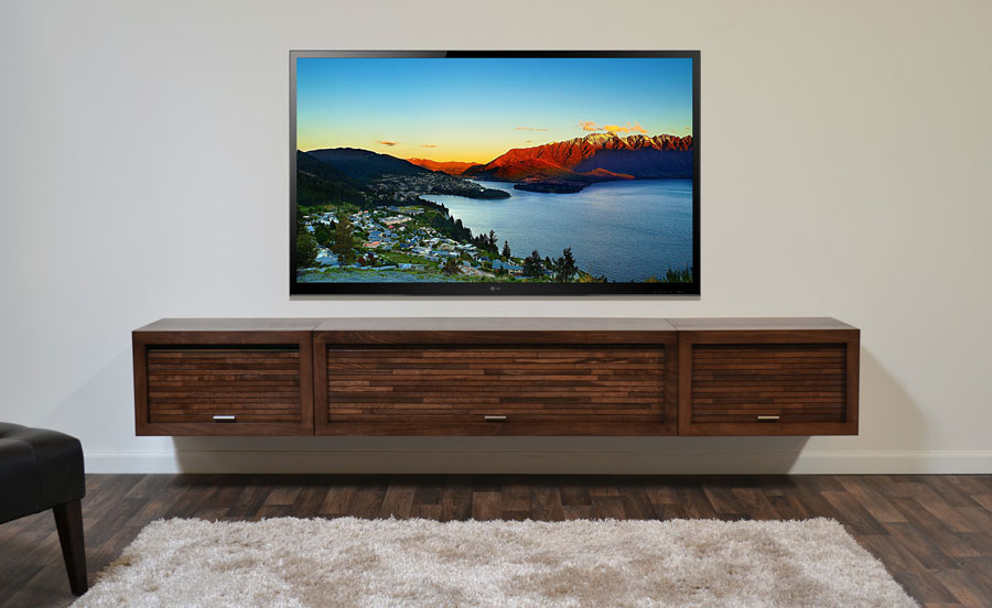 Is Your Primary Flat Panel Tv Wall Mounted Avs Forum Home