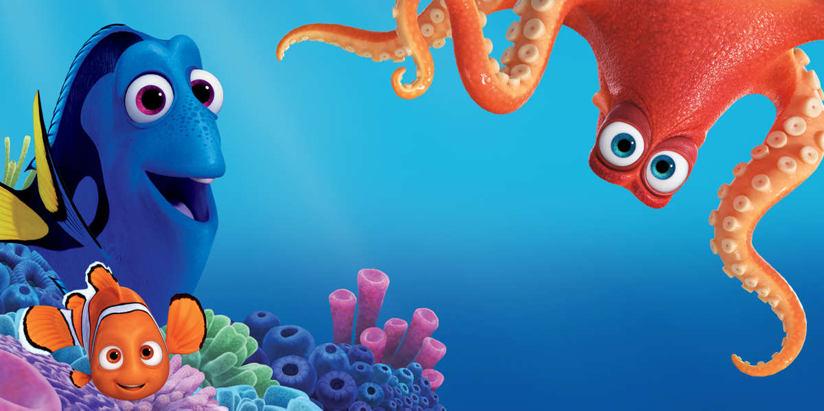 Finding Dory Blu Ray Review