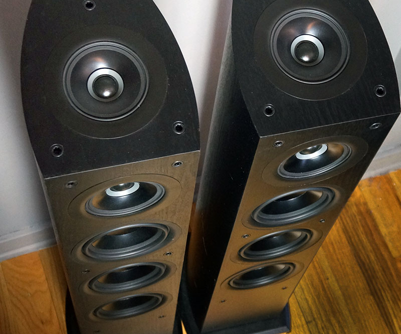 The Upfiring Concentric Driver Is Key Component That Makes These Speakers Atmos Enabled