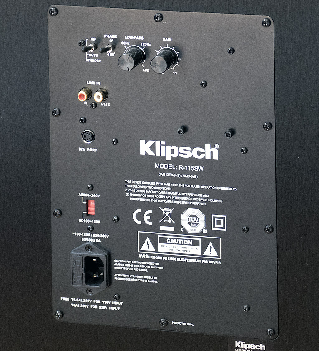 75530955550f43d70679 klipsch r 115sw subwoofer official avs forum review avs forum
