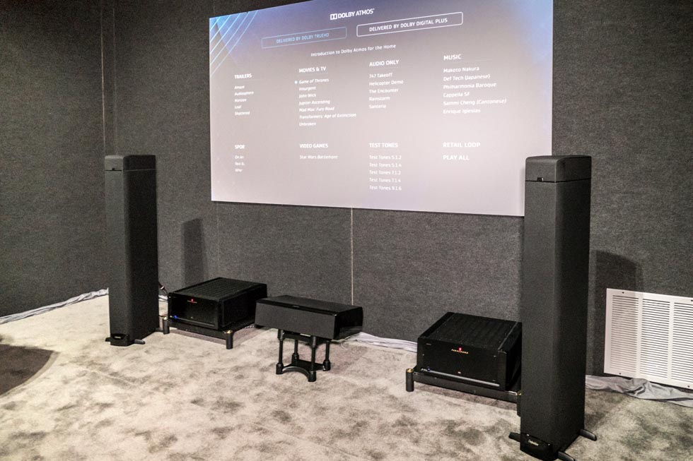 Definitive Technology Dolby Atmos Demo at CEDIA 2015 AVS Forum