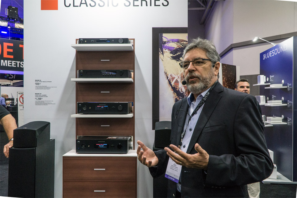 NAD Classic Series C 338, C 368, and C 388 DAC Amplifiers at CEDIA