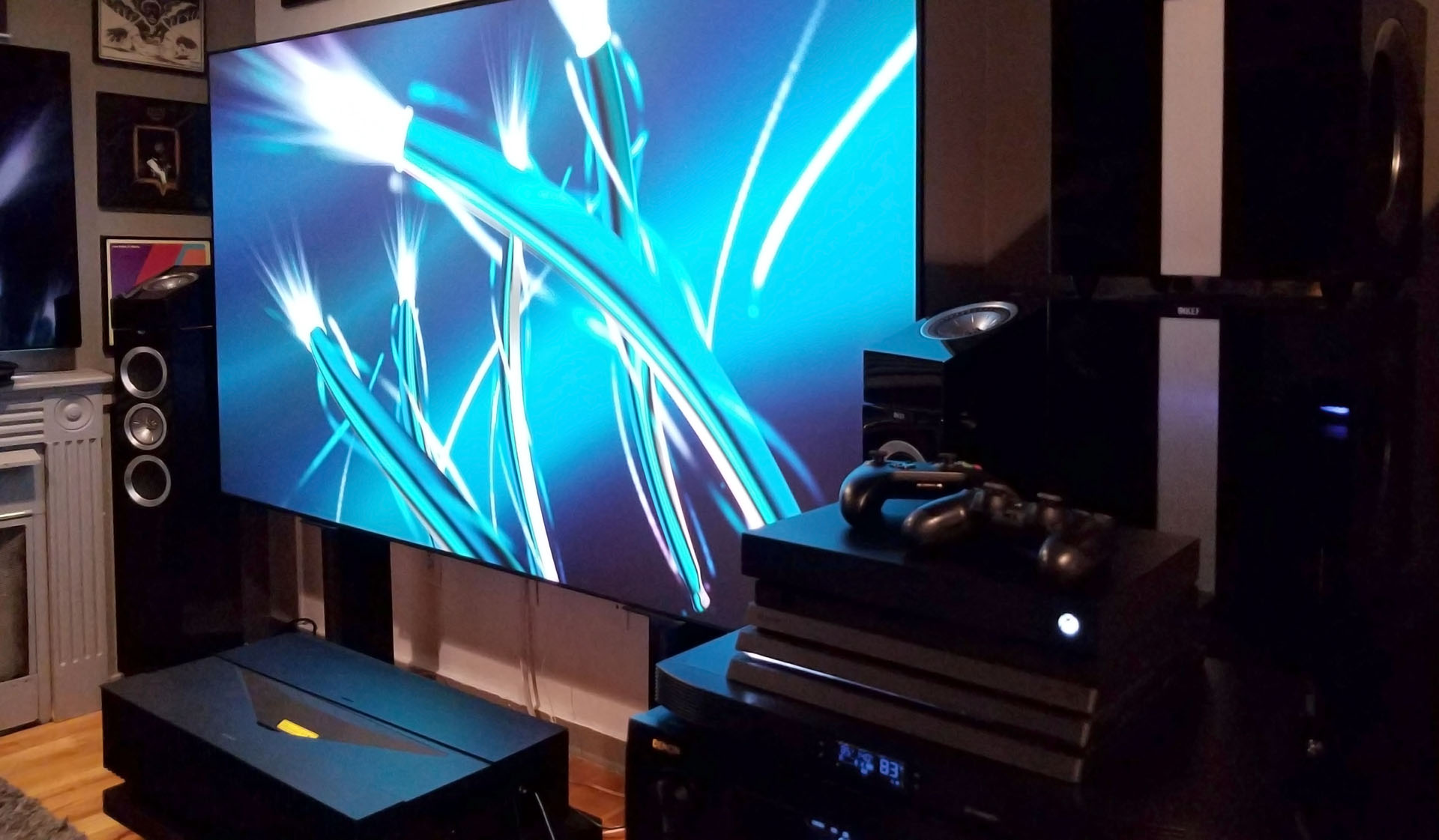 Hands-On Review: Sony VPL-VZ1000ES Ultra-Short Throw 4K HDR Home ...