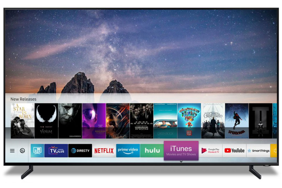 Apple iTunes and Airplay Coming to 2019 Samsung Smart TVs - AVS