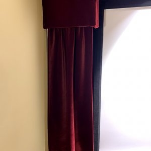 Here are the DIY Curtains and valance I made.