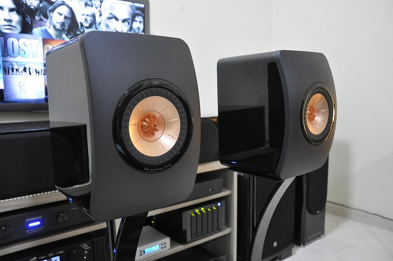 kef ls50 home theater. my kef ls50 ls50 home theater 4