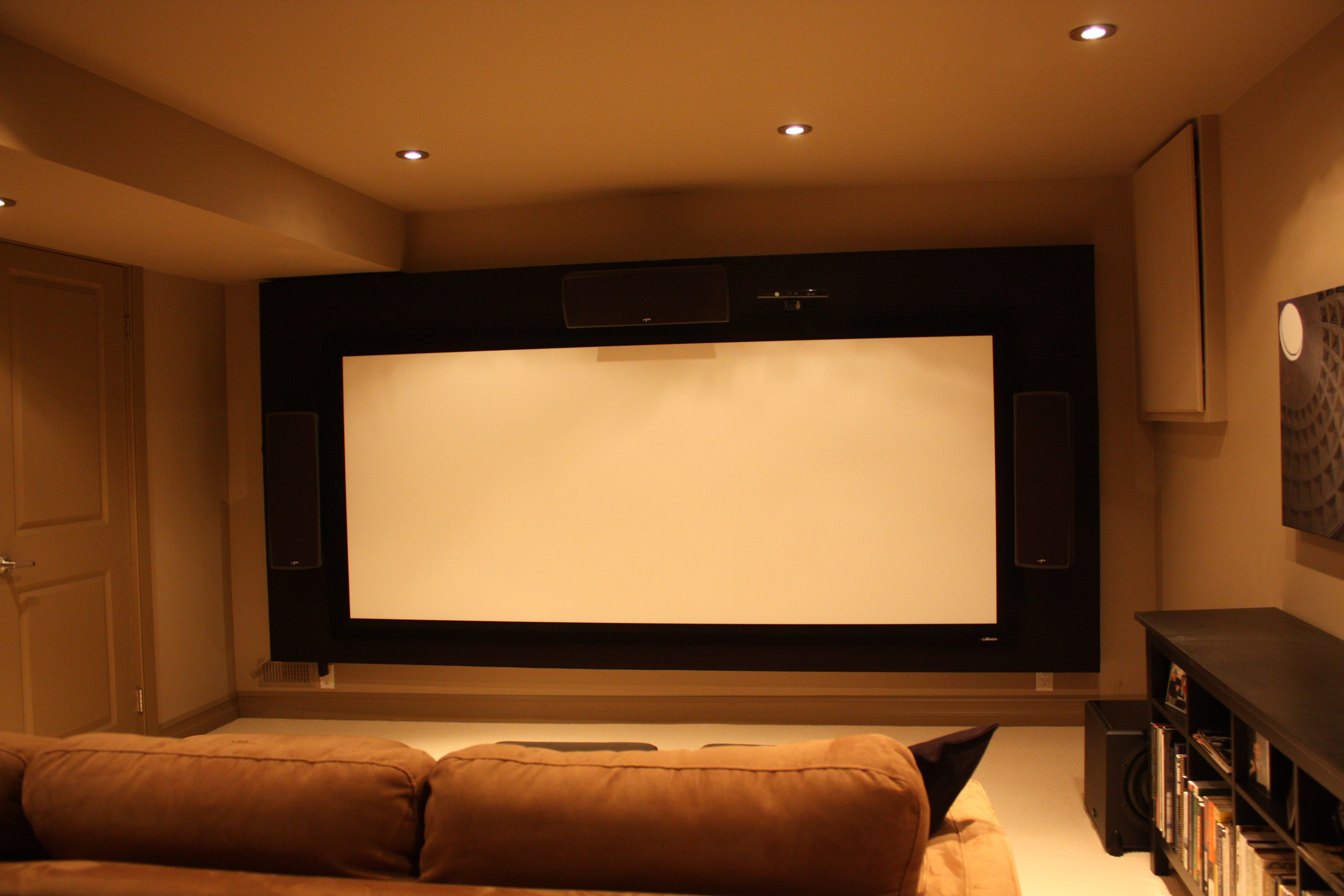 Our Simple Home Theater for Three - AVS Forum | Home Theater ...