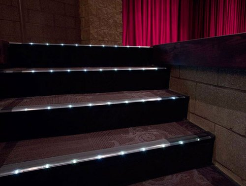 can someone help me out? & Home theater seating riser tread lighting - AVS Forum | Home Theater ...