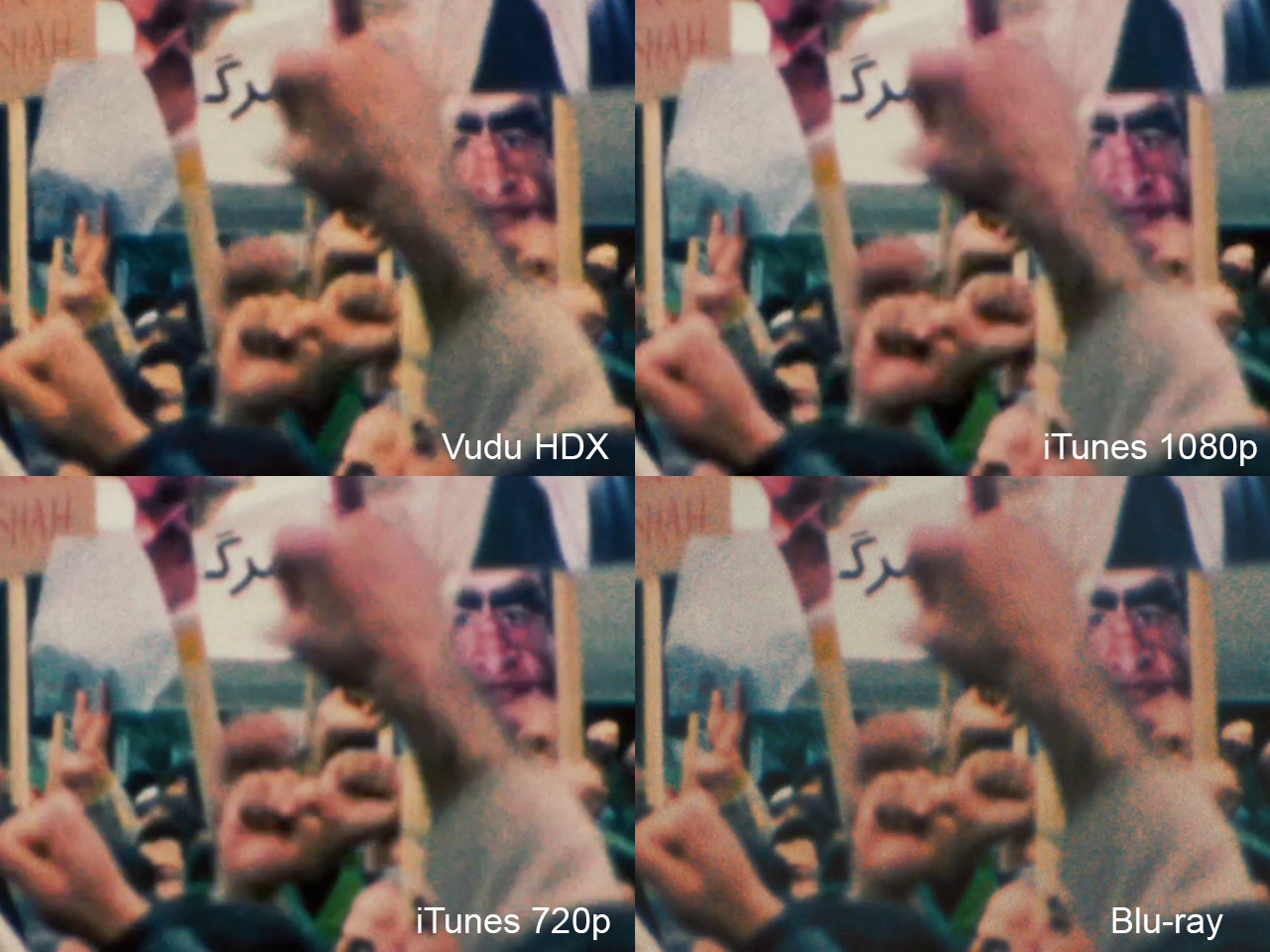 Argo: iTunes vs  Vudu vs  Blu-ray - AVS Forum | Home Theater