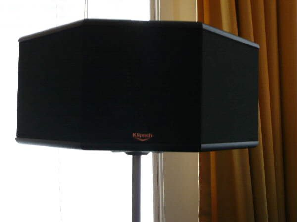 klipsch surround sound speakers. speaker stands for klipsch ss.5 surround sound speakers - avs forum | home theater discussions and reviews