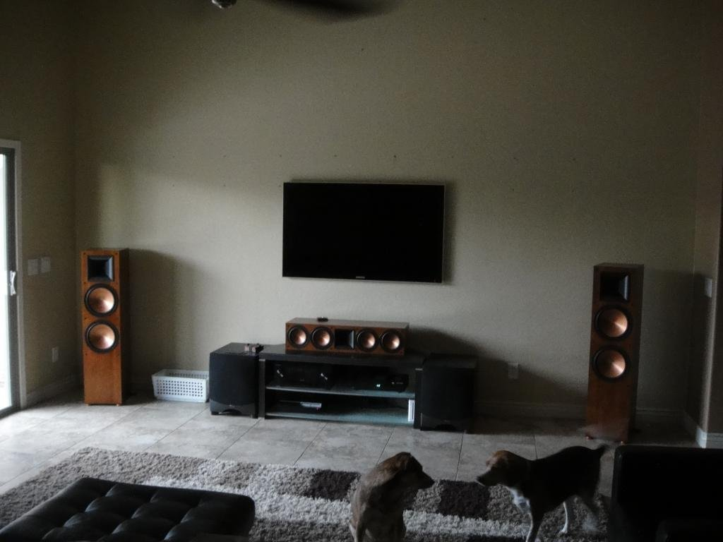 Done Dealu0027s Contemporary Living Room Home Theater Build   AVS Forum | Home  Theater Discussions And Reviews