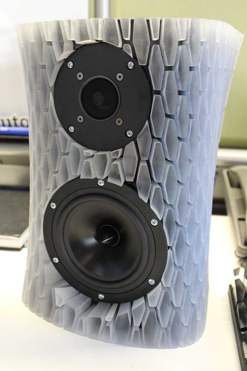 Cool Speaker Boxes are 3d printed speakers to diy for? - avs forum   home theater
