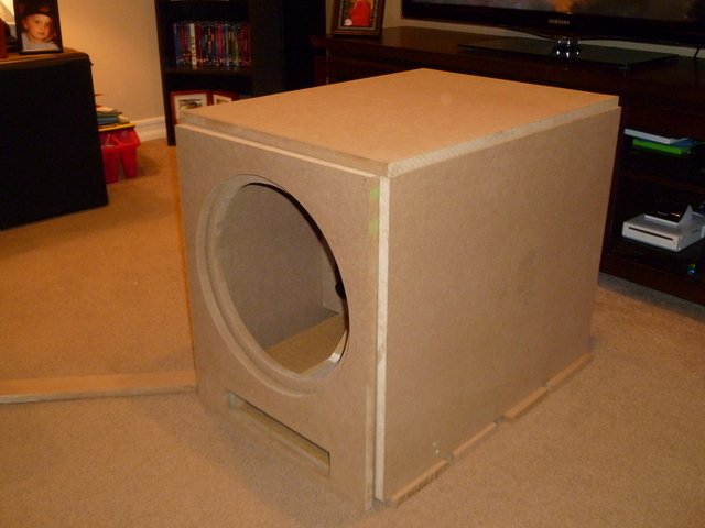how to build a ported sub box 2