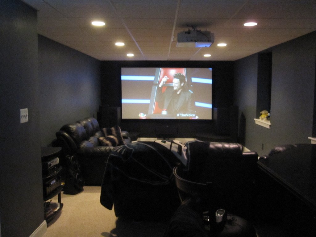 Gorilla83s Humble Basement Hangout Avs Forum Home Theater Bypass Wiring Cabinet With Speaker Wire Bar Area Leading Into