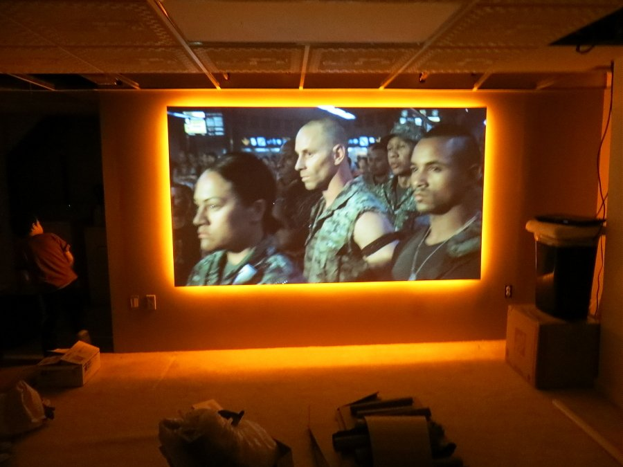 led lighting for around a screen avs forum home theater