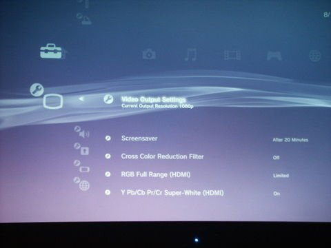 official ps3 faq master thread avs forum home theater rh avsforum com PS3 System Settings Screen PS3 Menu