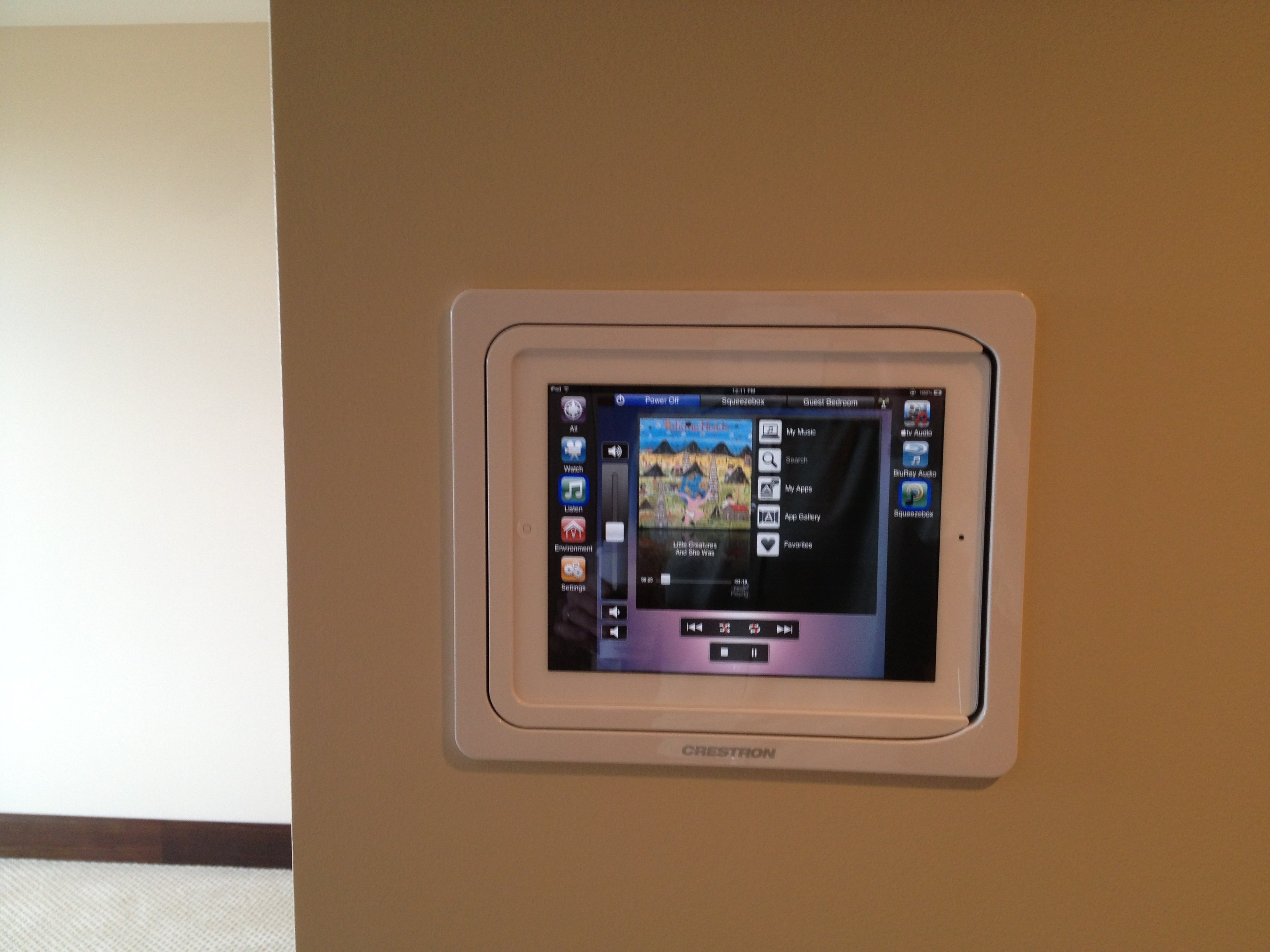 crestron inwall ipad dock not really sure on price or where to get this one lists it at 370