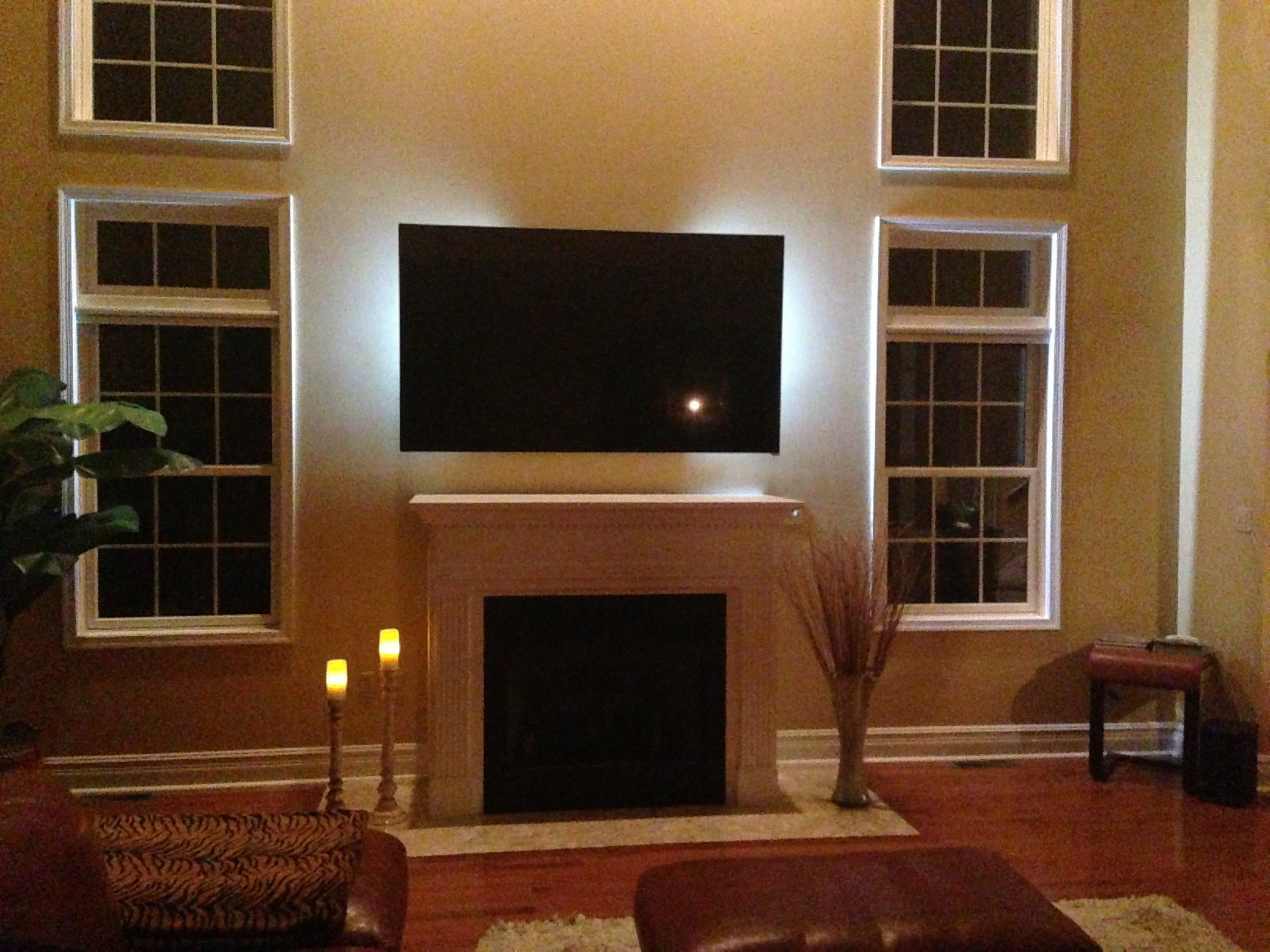 Flat Panel Over Fireplace Discomforting Page 7 Avs Forum Home Theater Discussions And Reviews