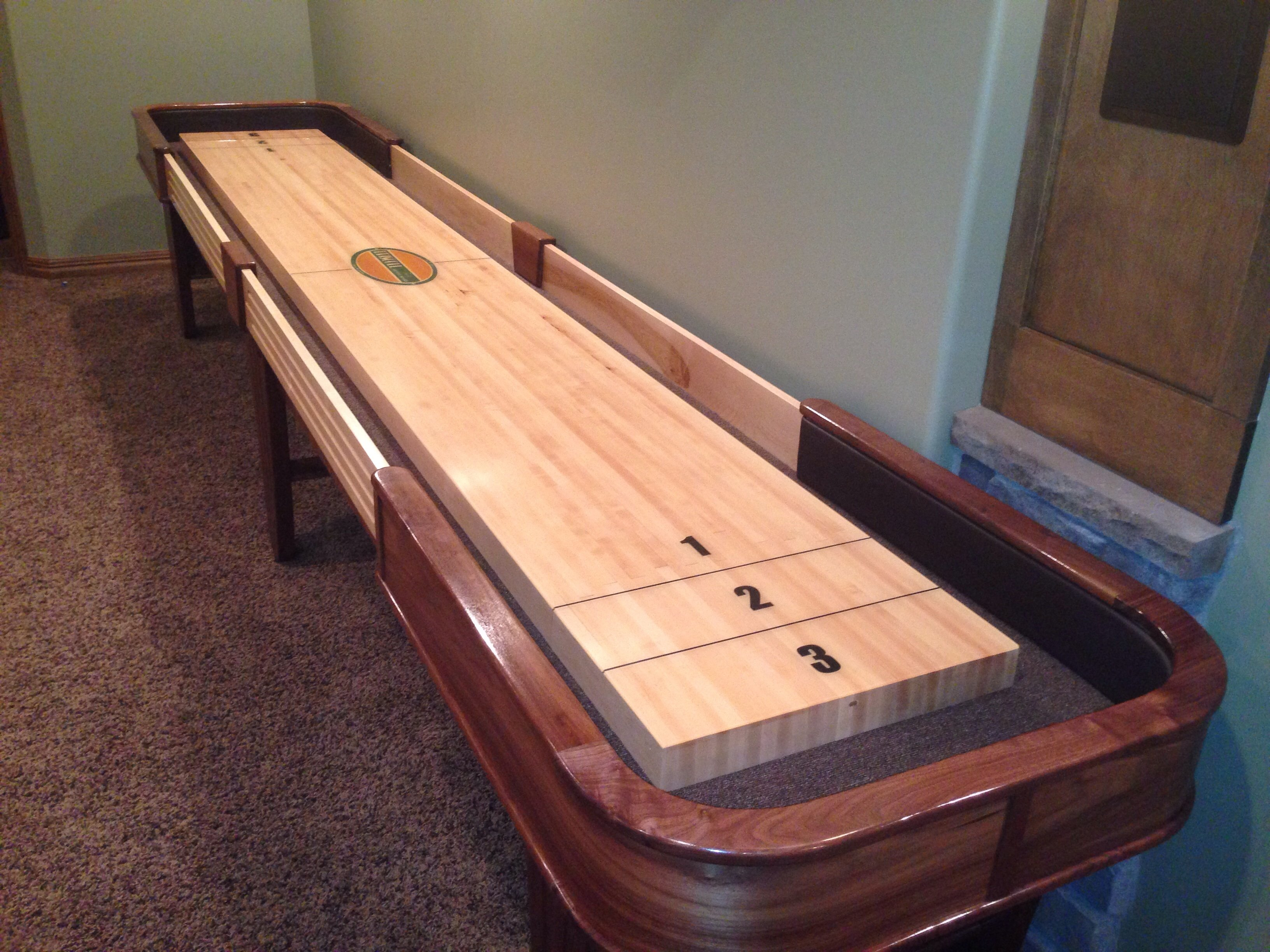 Winter Shuffleboard Project Complete   AVS Forum | Home Theater Discussions  And Reviews