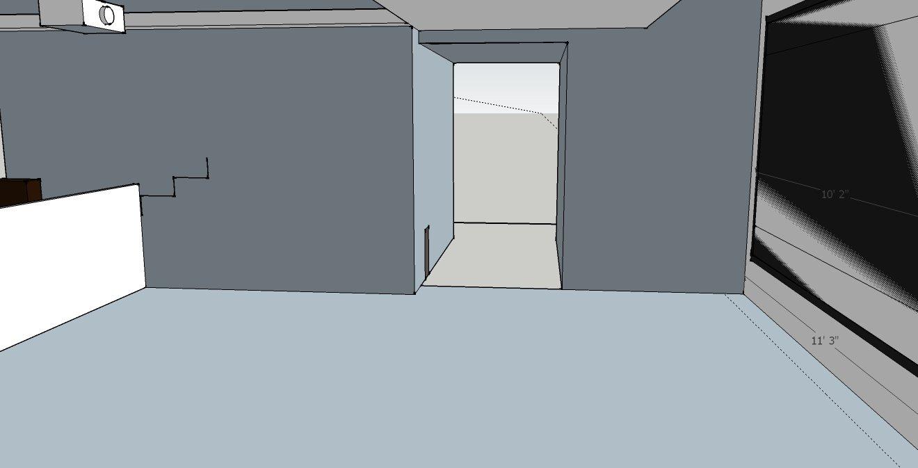 Added hallway