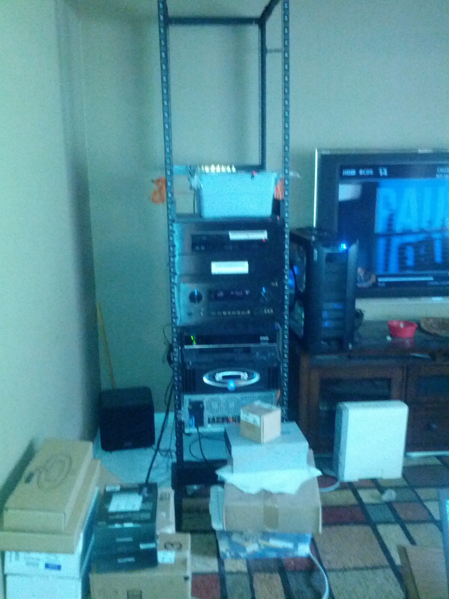My Home Theater Rack and Equipment room - AVS Forum | Home Theater ...