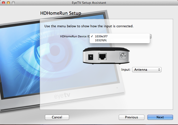 Something very odd happened with EyeTV and HDHomeRun