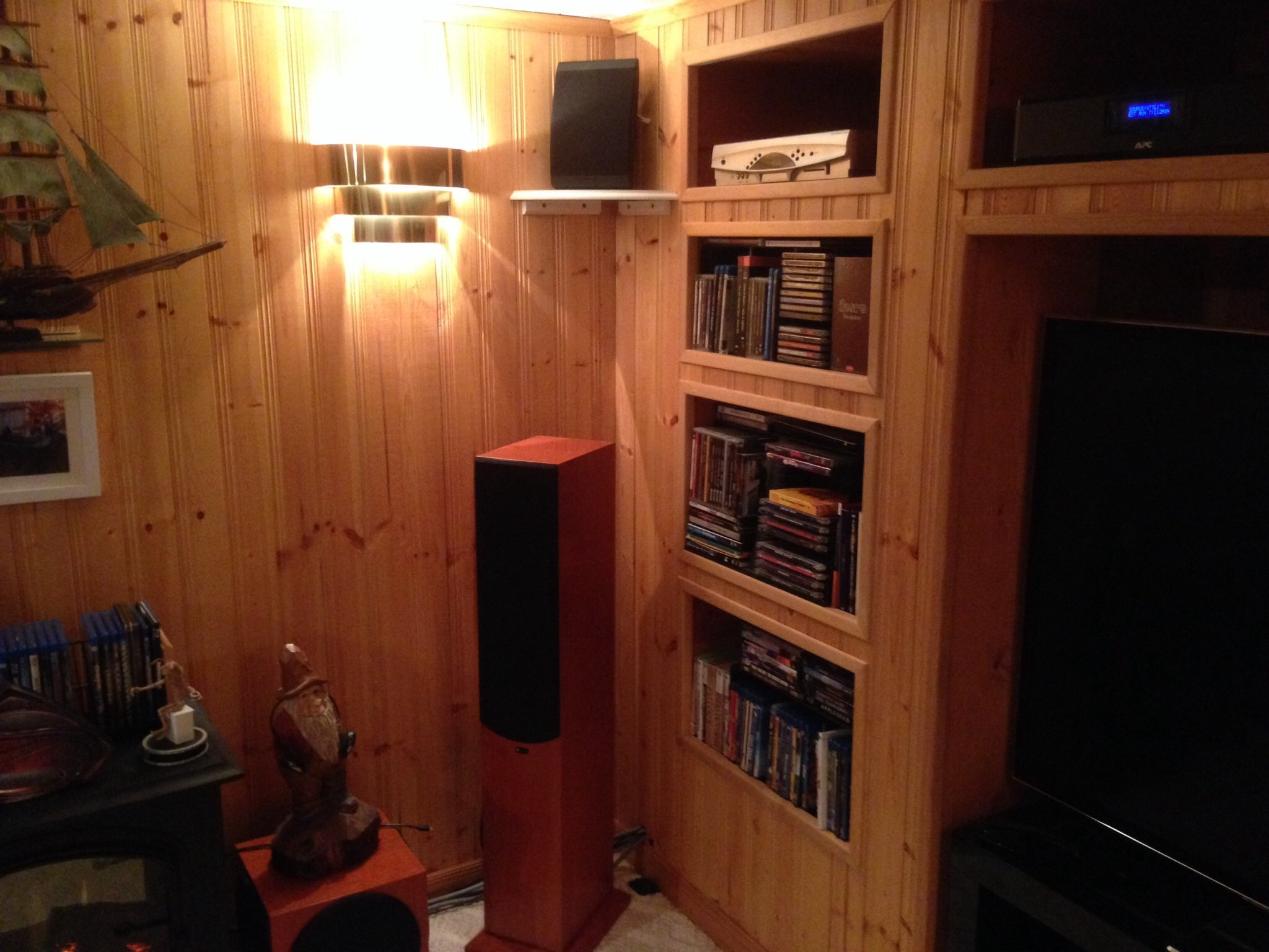 Added Height speakers.