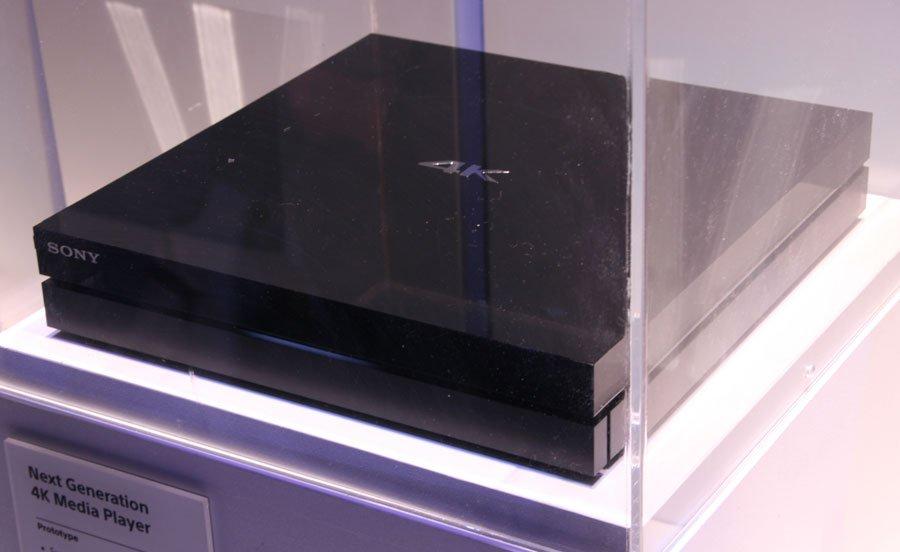 Sony Next-Generation 4K Media Player at CES 2014 - AVS Forum