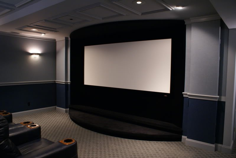 Home Theater Stage Design Notion For Complete Home Furniture 16