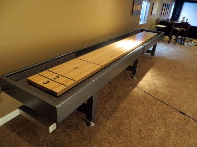 Diy Shuffleboard Table 18 Cost Do It Your Self