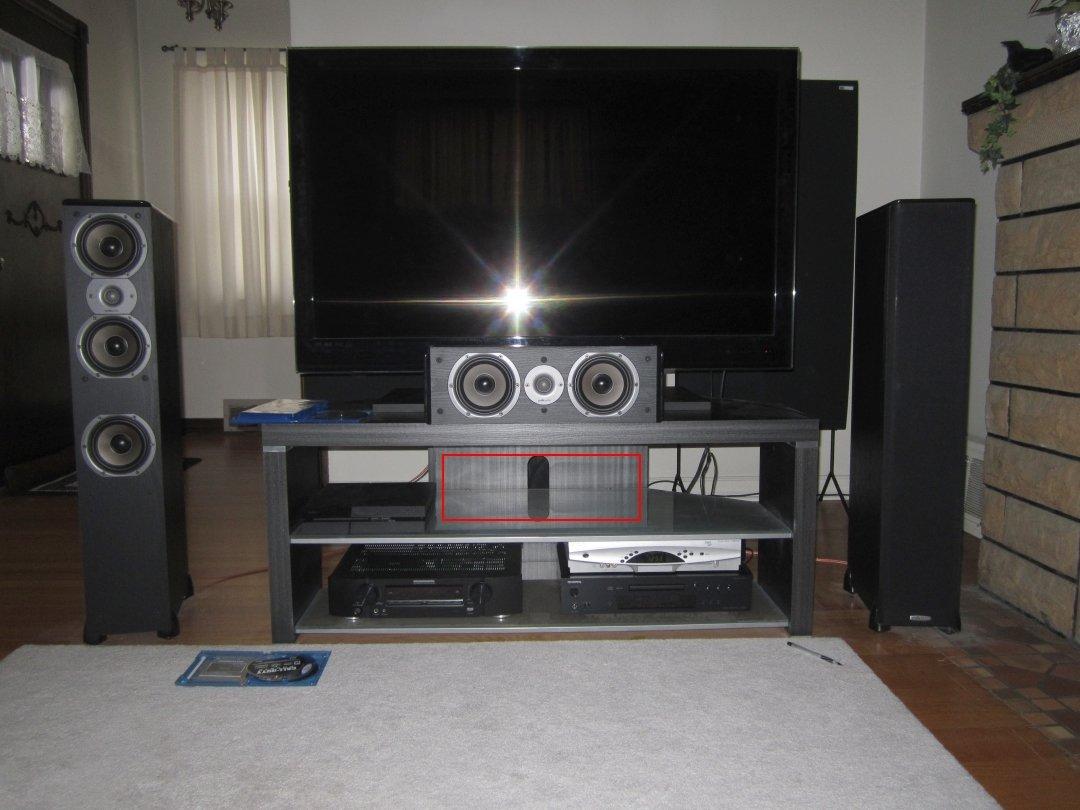Center channel speaker placement  AVS Forum