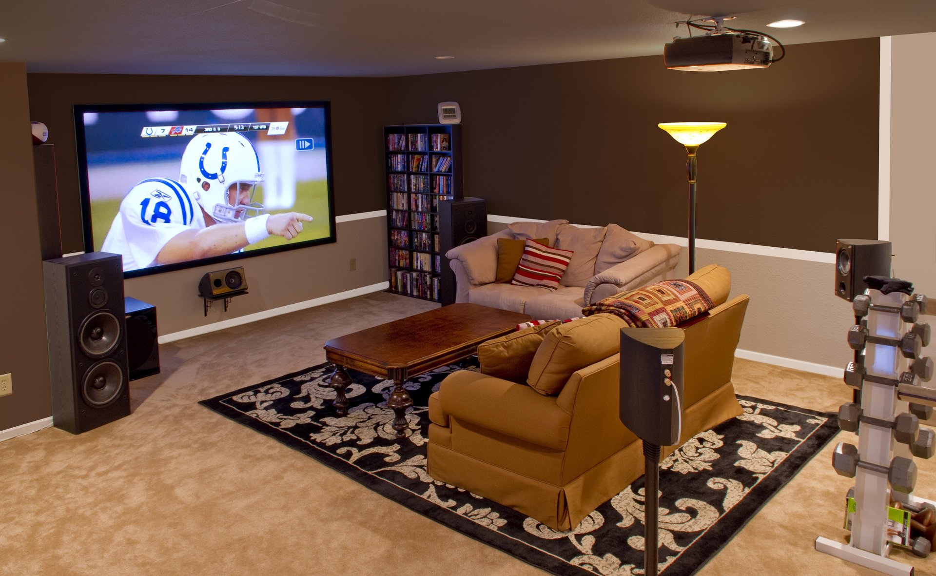 Edgar_in_Indy\'s home theater improvement thread - BEFORE and AFTER ...