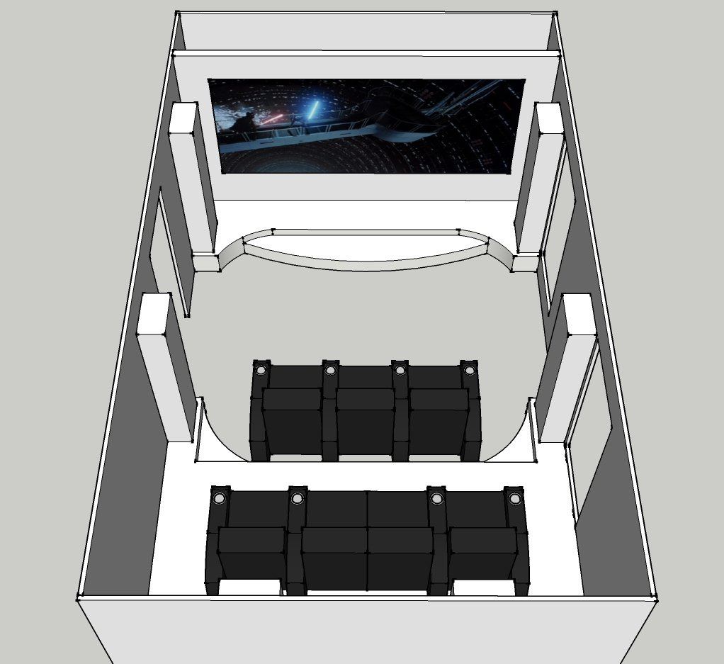 Proposed layout - open top