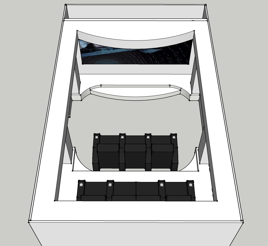 Proposed layout - with soffits