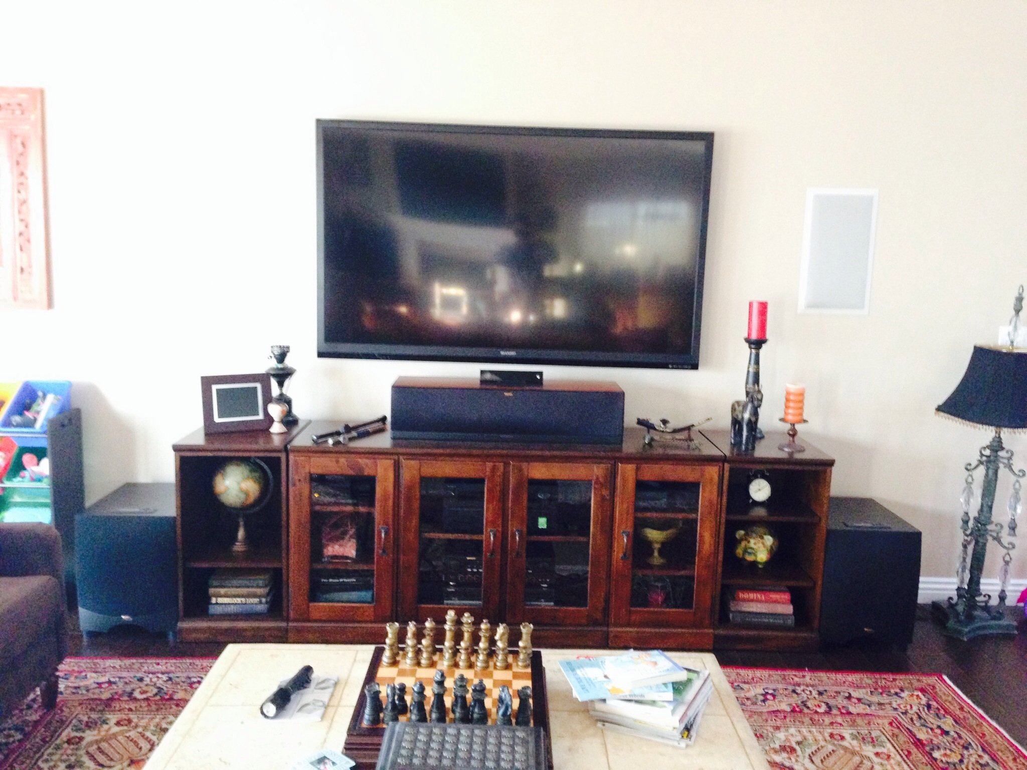 klipsch 6504. i know subs don\u0027t matter when it comes to tone/timbre but also bought 2 klipsch rw12 d for 250 a pop. too cheap couldn\u0027t refuse. 6504 p