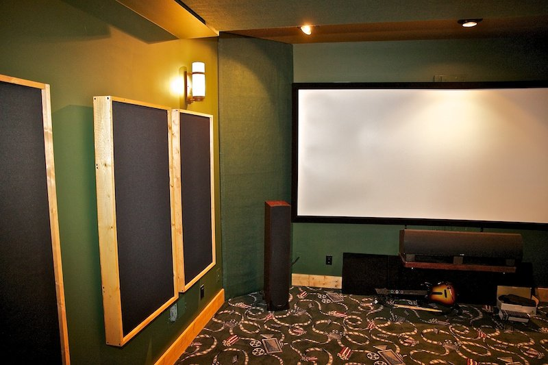 Diy Construction Methods Of Hang Able Acoustic Panels Moveable Corner Traps Not Fixed Frames Avs Forum Home Theater Discussions And Reviews
