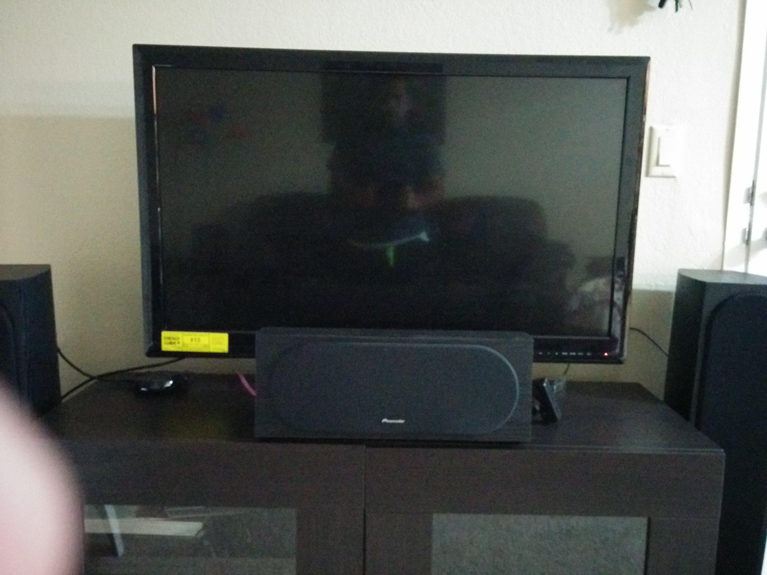 Need to Raise TV height (Center speaker Blocks TV) - AVS