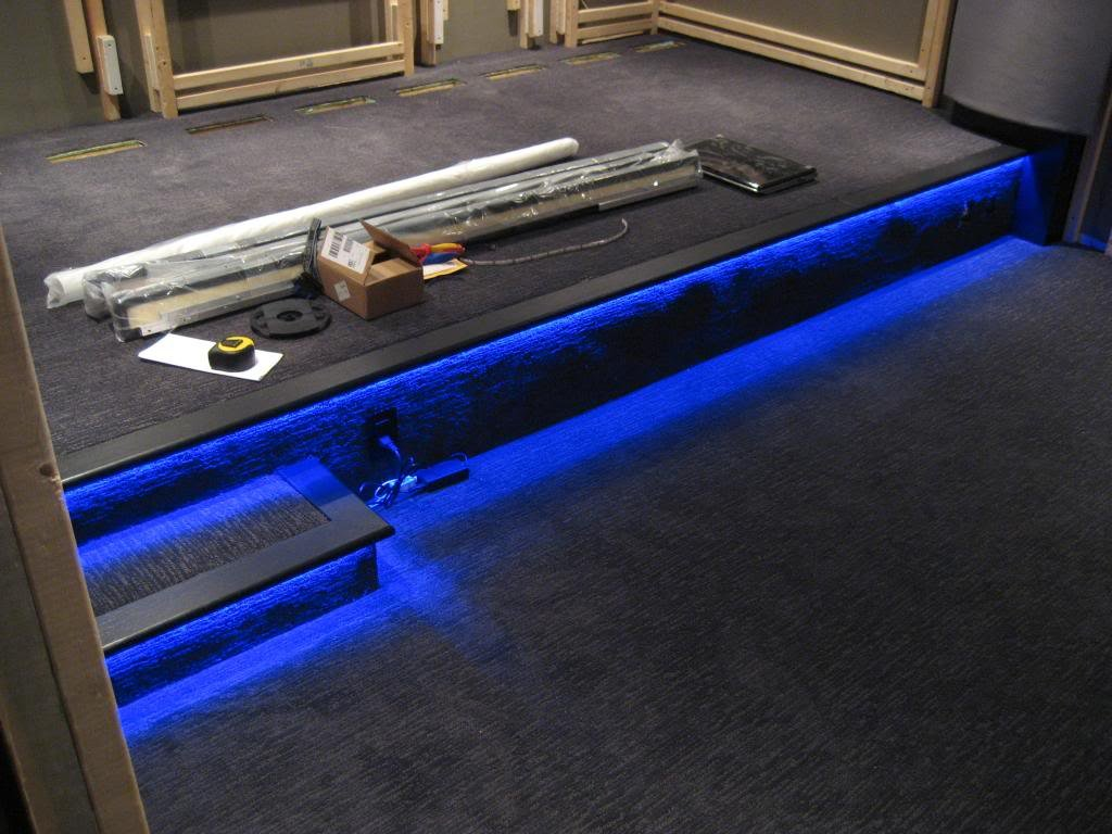 home theater step lighting. Indirect Lighting In Crown Molding - AVS Forum | Home Theater Discussions And Reviews Step E