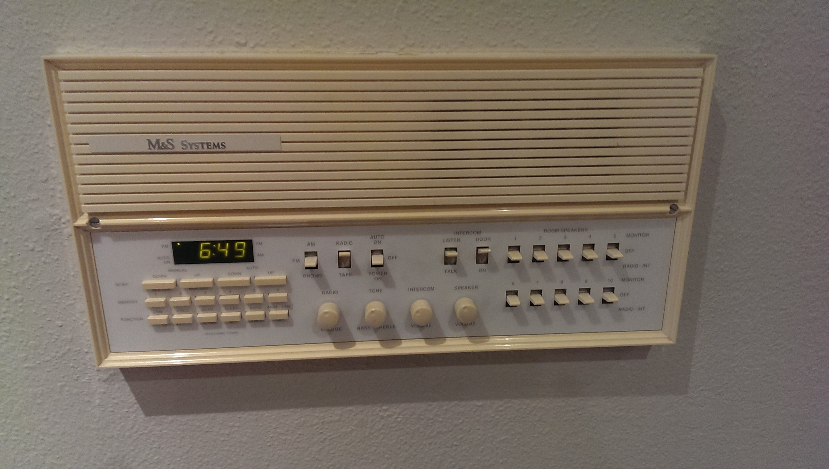 LL m&s systems intercom system upgrade replacement avs forum home  at bakdesigns.co