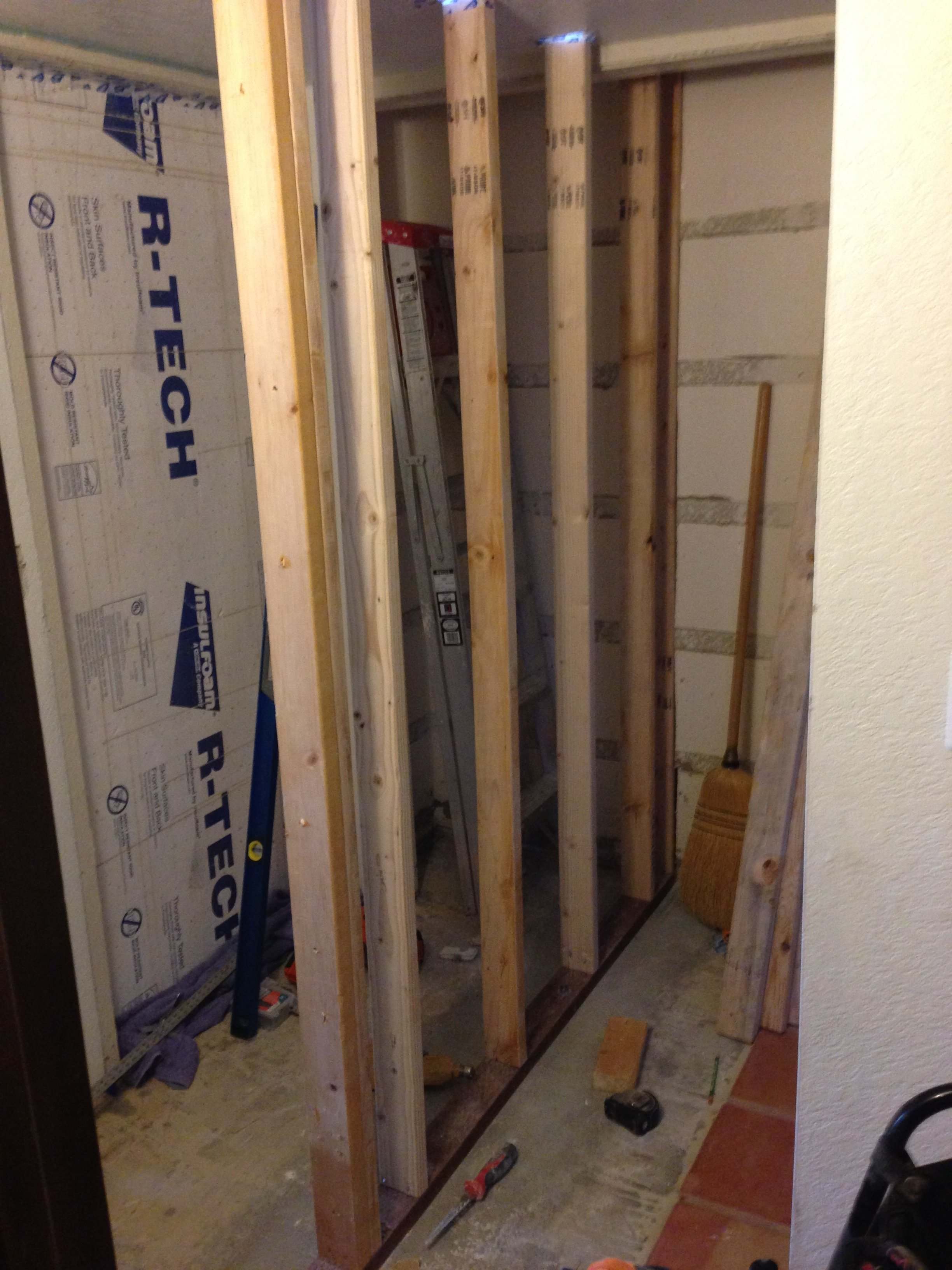 Bearing wall framing