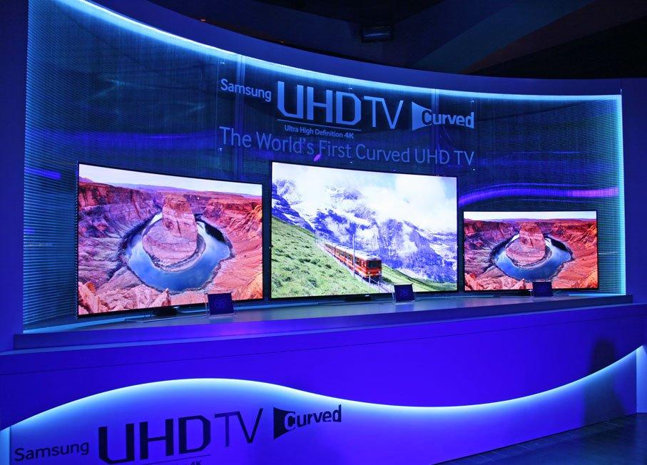 Samsung's HU9000 UHDTVs