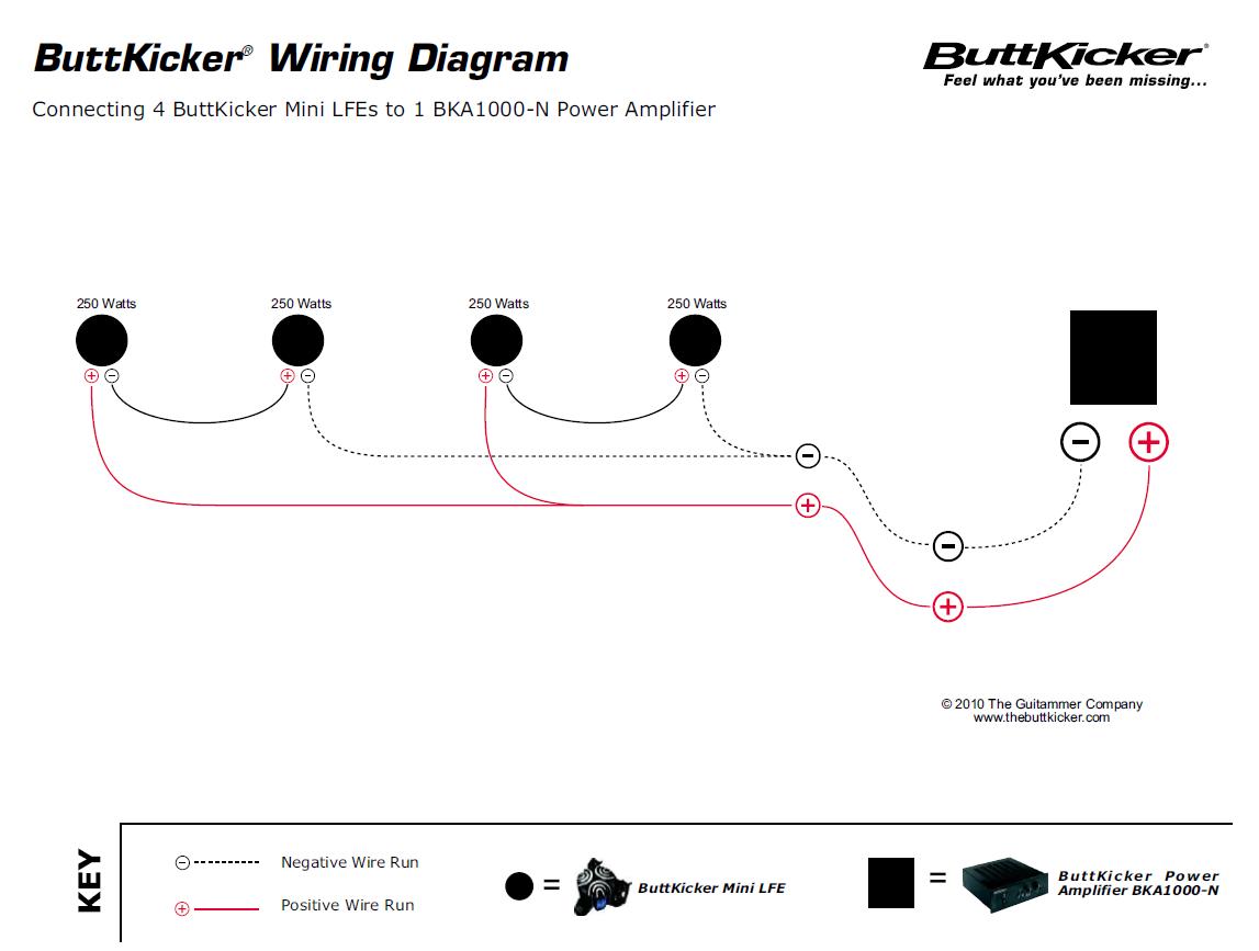 Shakers SimpleCheap Hookup Visual Guide Page AVS Forum Bass - Aura bass shaker wiring diagram