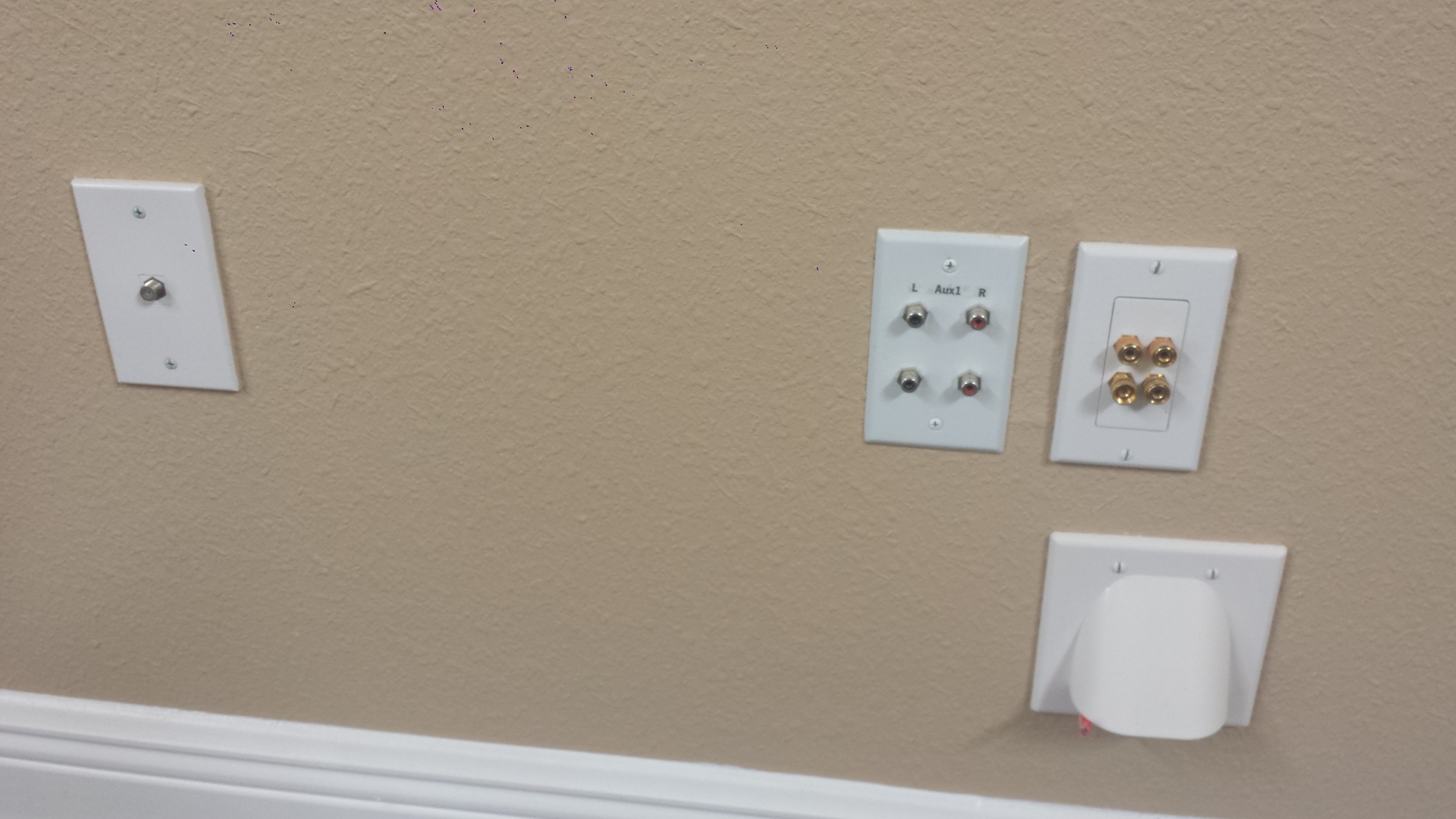 pre wiring home for surround sound solidfonts how to in wall wiring for your home theater forum