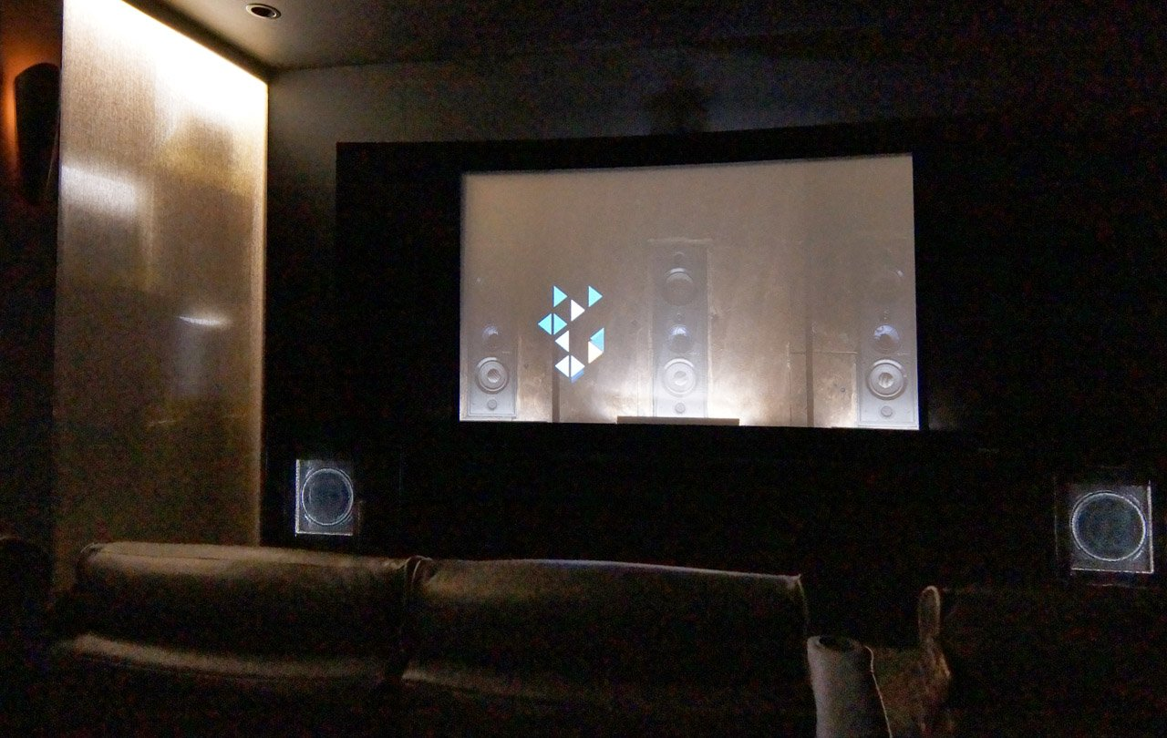 Front projection home theater