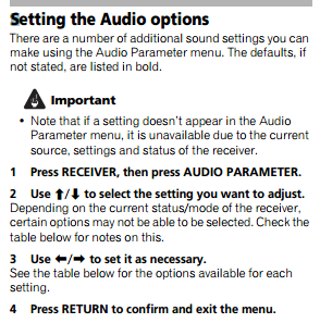 Turning OFF HDMI Passthrough on Pioneer Receiver - AVS Forum