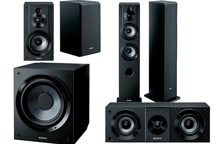 Sony Core Series High Resolution Speakers