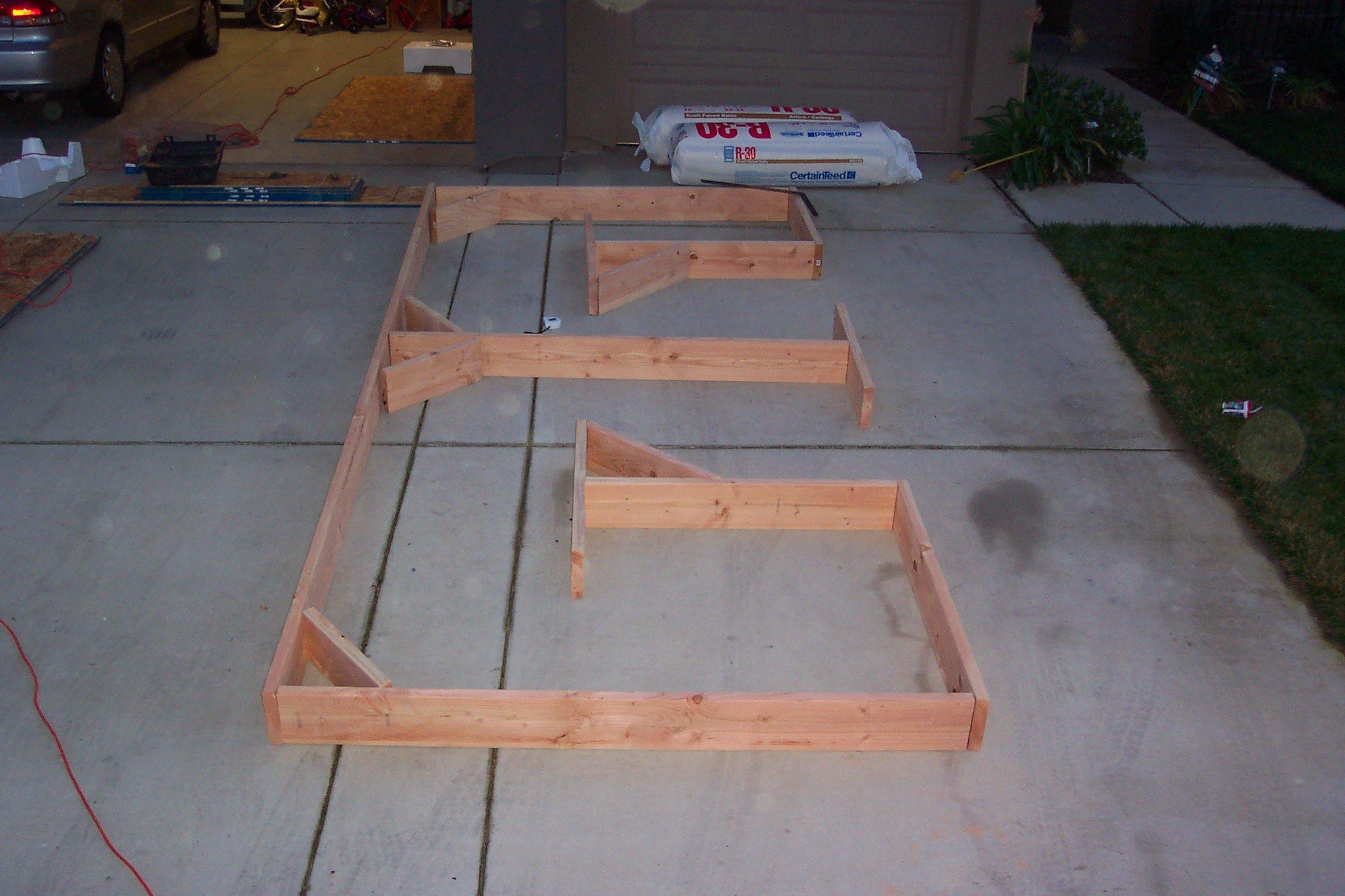 Riser construction 1 - outside